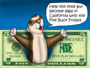 $5 Ferret Friday keeps our efforts growing!